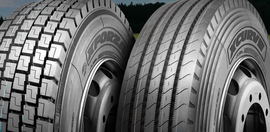 pneus XBRI caminhões