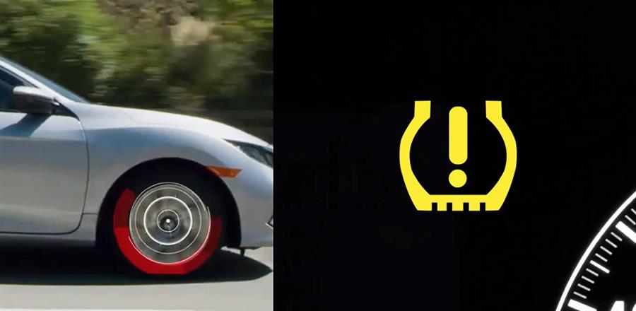 TPMS indicador pressão pneus