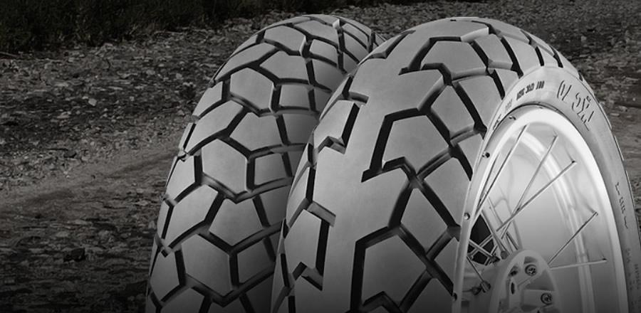 pneu Continental para moto
