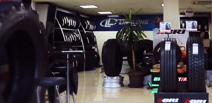 loja de pneus Paraguai