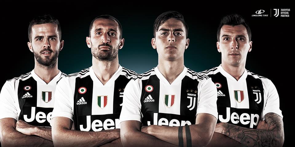 Linglong patrocina a Juventus